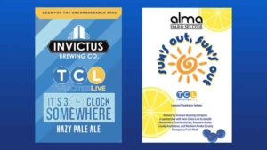 Invictus Brewing Company and TCL team up to benefit hunger relief!