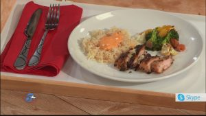 Rob's Sweet and Garlicky Chicken Thighs with Coconut Rice