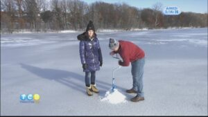 Kelli Goes Ice Fishing
