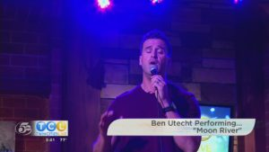 "Ben Utecht Performing ""Moon River"""