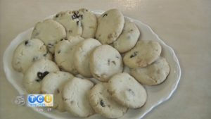 Bridgeman's 12 Days of Cookies: Swedish Raisin Cookie with Xmas Touch