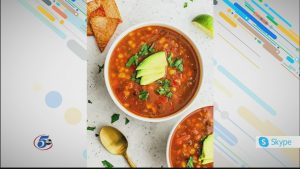Vegan Black Bean Tortilla Soup