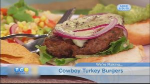 Monday Night Meal: Cowboy Turkey Burgers