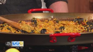 National Seafood Month – Shrimp Paella