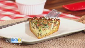 Monday Night Meal: Sweet Potato Quiche