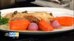 That Cooking School: Chicken Piccata & Honey Grazed Carrots