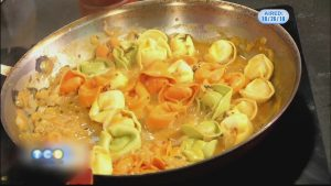 Monday Night Meal: Tortellini in Creamy Pumpkin-Sage Sauce