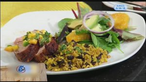 Monday Night Meal: Roasted Pork Tenderloin with Mango Salsa