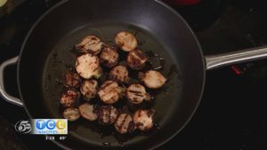 Char Turnips with Oyster Sauce