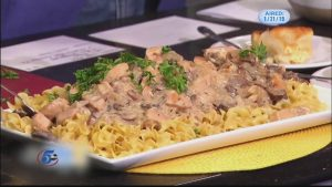 Monday Night Meal: Chicken Stroganoff