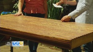 Up-cycled Outdoor Table