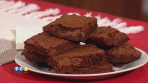 Sweet & Spicy Mexican Brownies