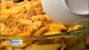 Monday Night Meal: Italian Sausage Pumpkin Pasta