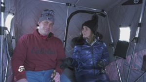 Cabela's: TCL Reporter Kelli Gets a Lesson in Ice Fishing