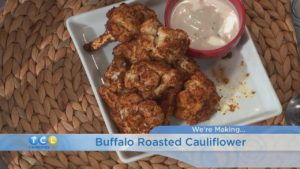 Monday Night Meal: Buffalo Roasted Cauliflower