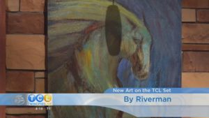 Art on the Twin Cities Live Set