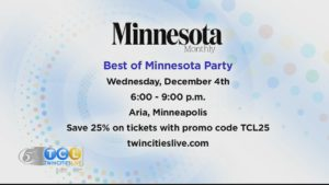 Minnesota Monthly's Best of Minnesota Party
