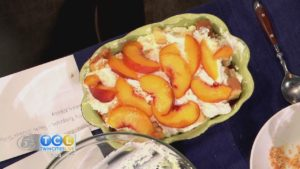 Peach Icebox Trifle