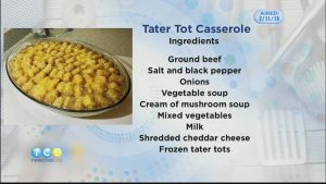 Monday Night Meal: The Doran's Tater Tot Casserole